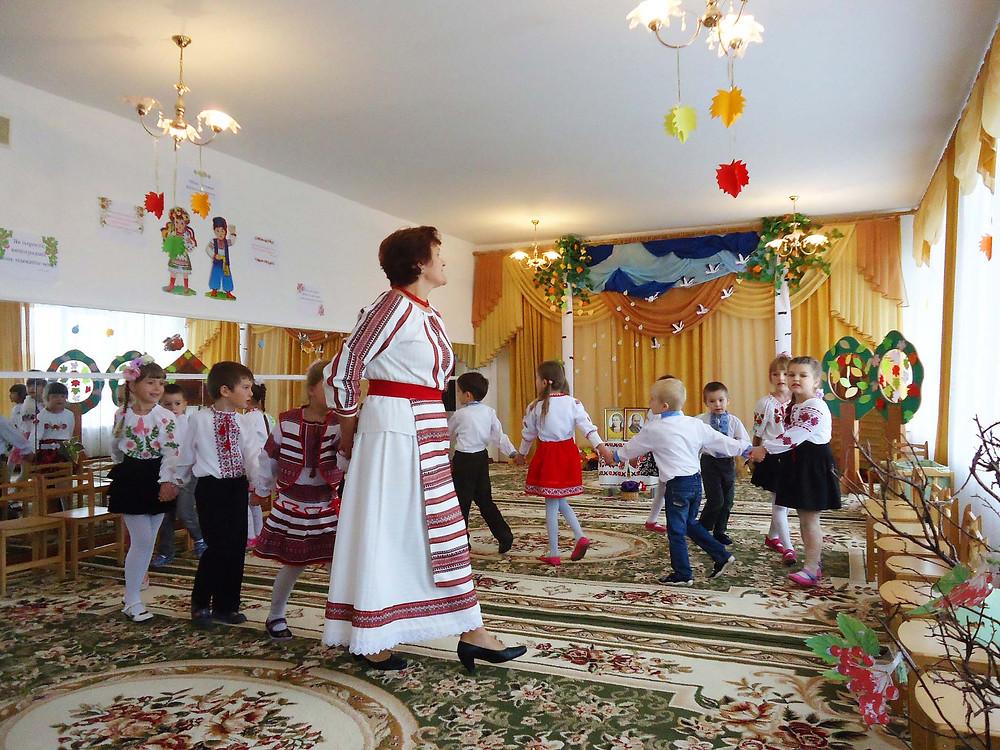 Свято української писемності і мови в ДНЗ