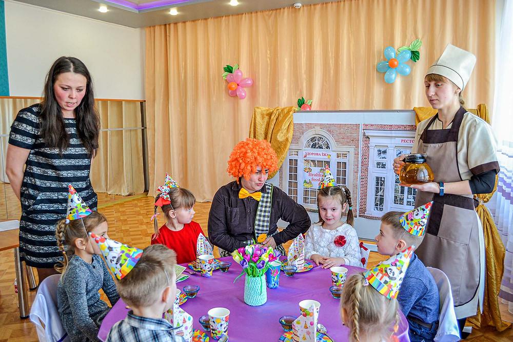 Заняття з основ безпеки життєдіяльності за навчальним курсом «Дошкільнятам освіта для сталого розвитку» в середній групі «День народження Карлсона»
