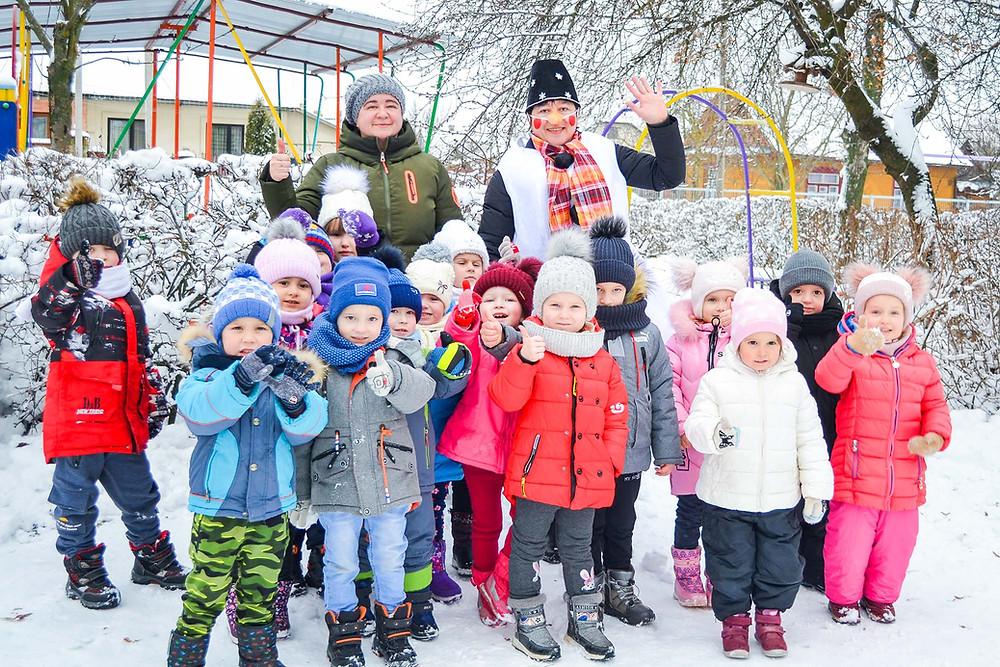 Ой весела у нас зима в ДНЗ