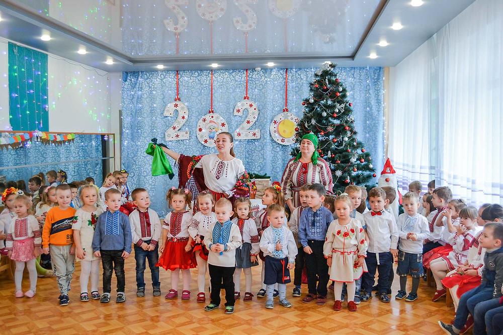 Колядки співаємо, із Різдвом вітаємо в ДНЗ
