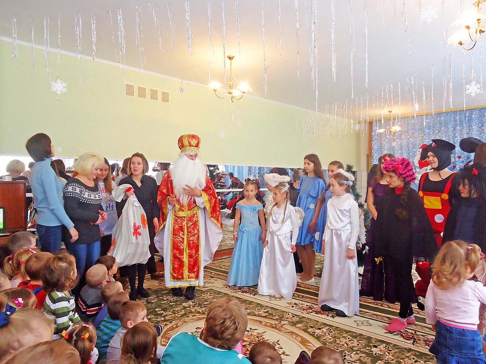 Добрі справи до святого Миколая в ДНЗ