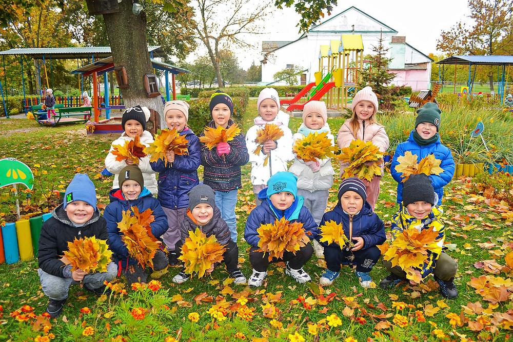 Осіння тема в дитячому садку