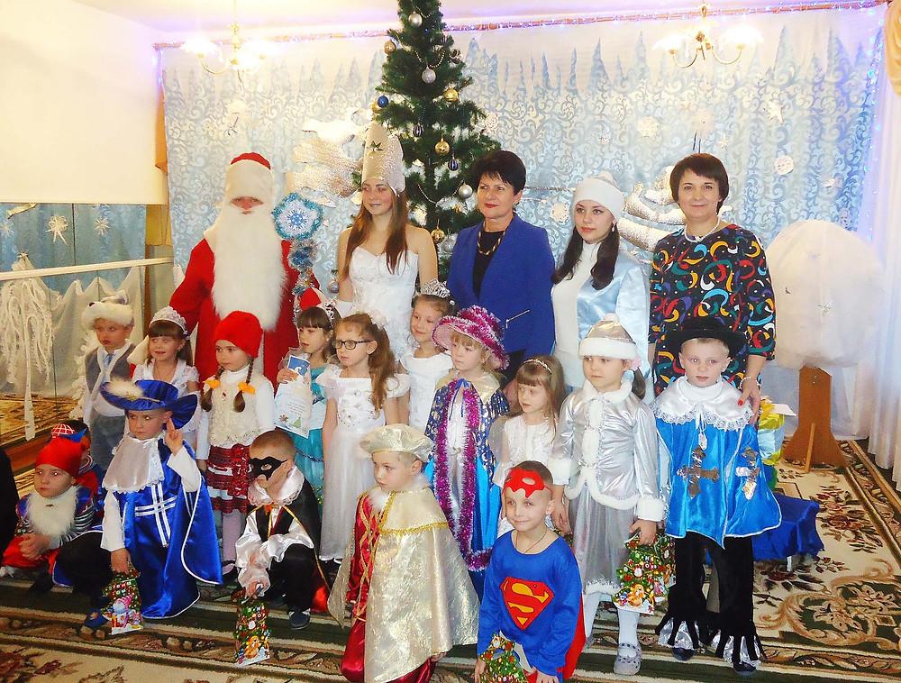 Новорічні свята в ДНЗ