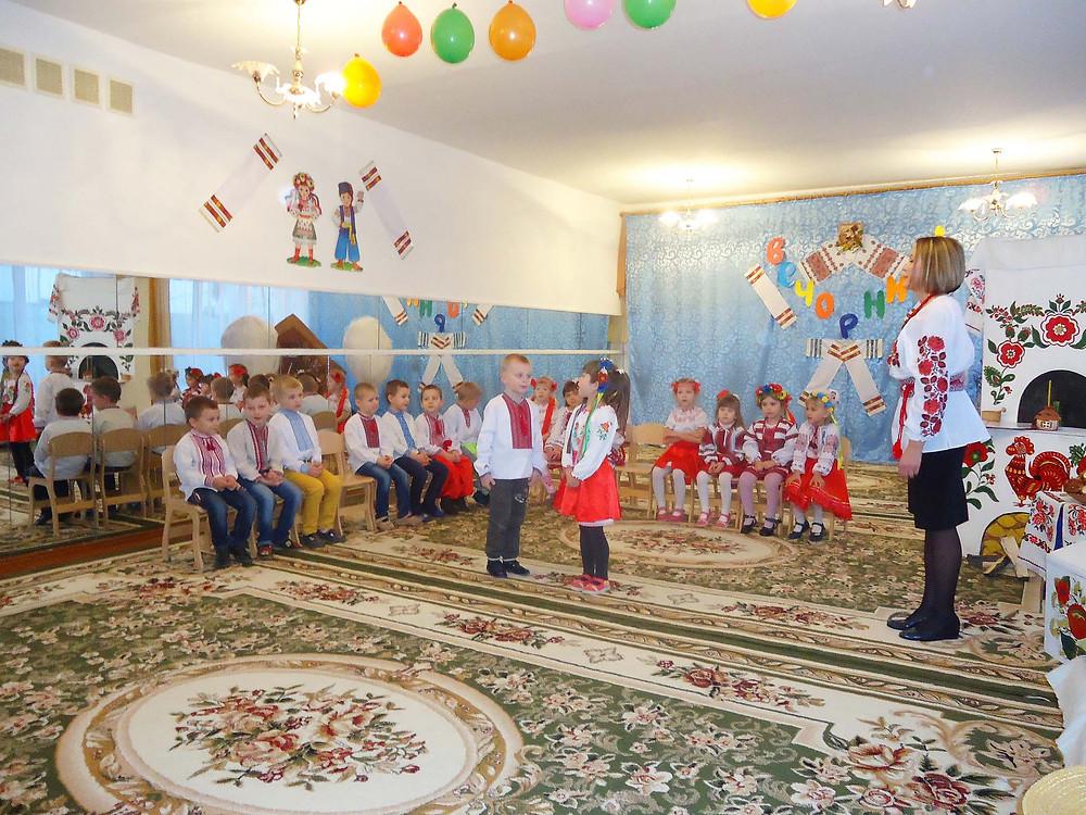 Українські вечорниці в ДНЗ