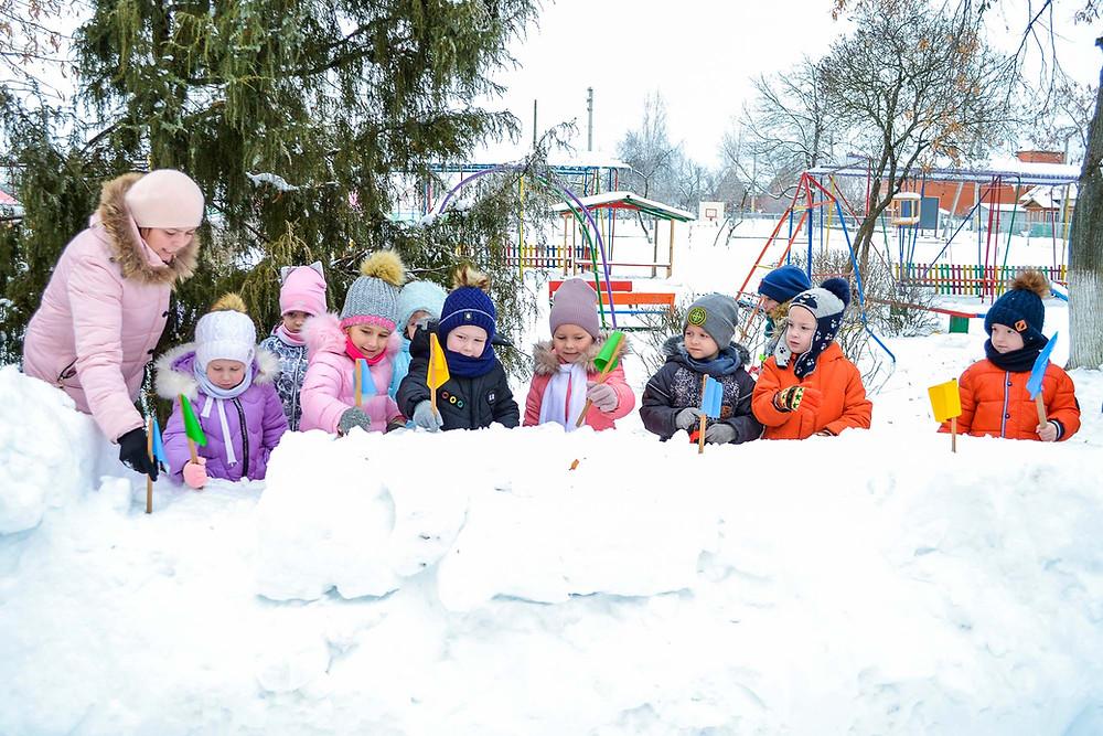 Конкурс «Зимова фортеця» в ЗДО
