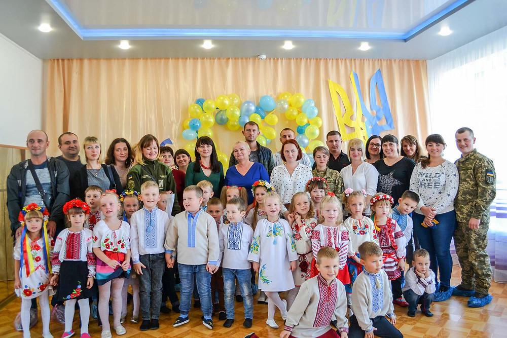 Нехай у кожної дитини живе любов до України в ДНЗ