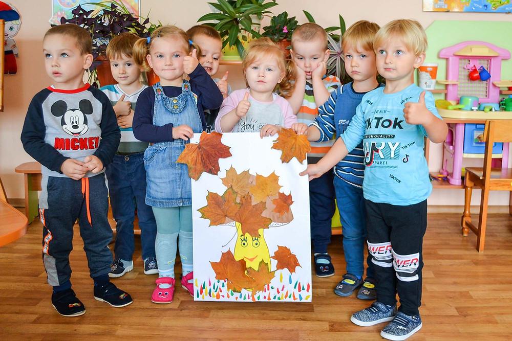 Тематичний тиждень «Яка красива українська осінь» в ДНЗ