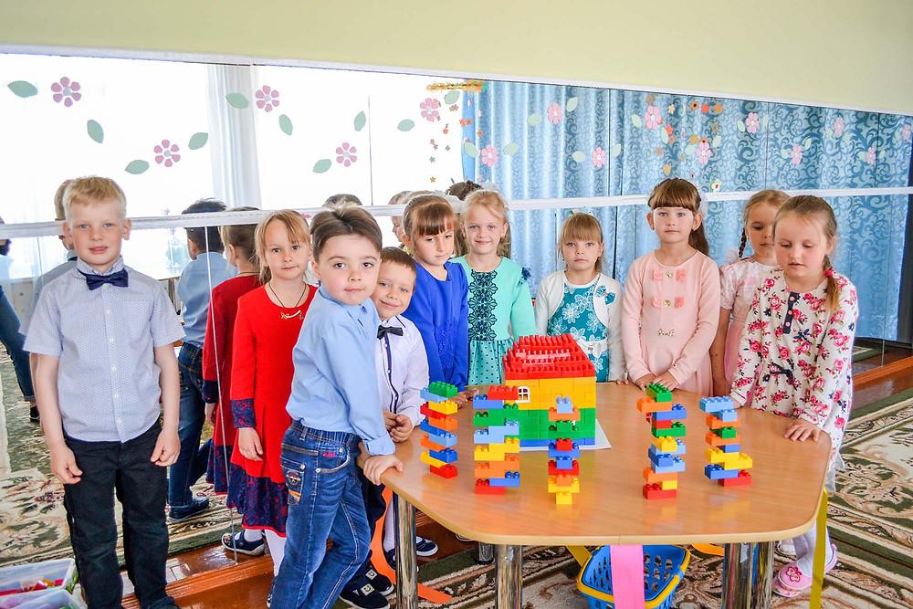 Інтегроване заняття з використанням LEGO-технології «Подорож до казкової країни» в ДНЗ