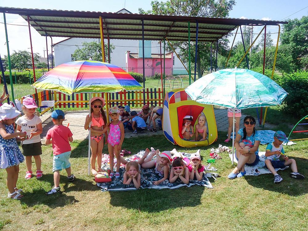 Веселкове літо у ДНЗ «Дзвіночок»