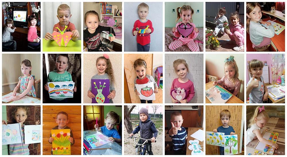 Тематичний тиждень вдома «Тиждень щасливої дитини» в ДНЗ