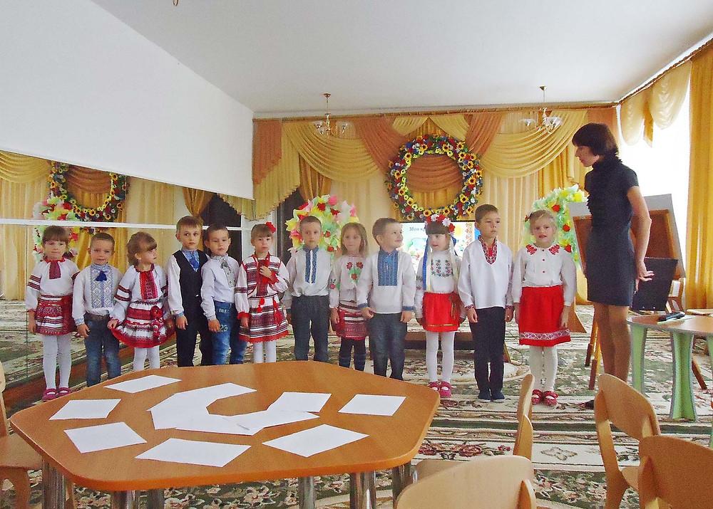 Національно-патріотичне виховання дошкільників ДНЗ №1