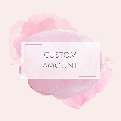 Custom Amount