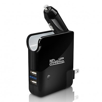 Cargador Celular Para Auto + Batería Power Bank 2500mAh