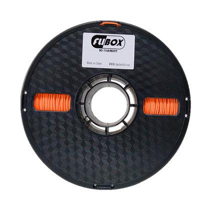 TPU Naranja 1.75mm 1Kg Flibox Flexible