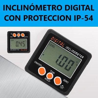 Transportador Inclinómetro Digital - IP54
