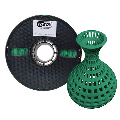 PLA Verde Oscuro 1.75mm 1Kg Flibox