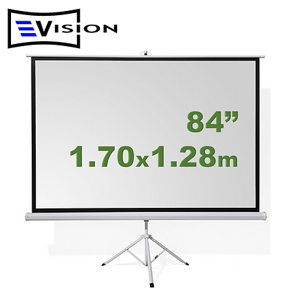 "Ecran Trípode 84"" 1.70x1.28m EVISION"