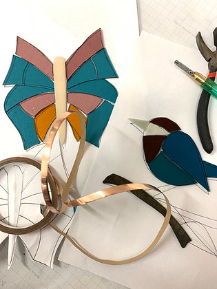 Beginners' stained glass workshop - 9th June 2021