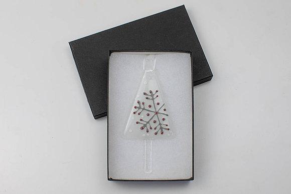 Snowflake - white and grey
