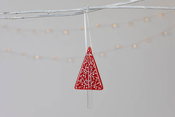 The Aspen- Christmas decoration -  Red