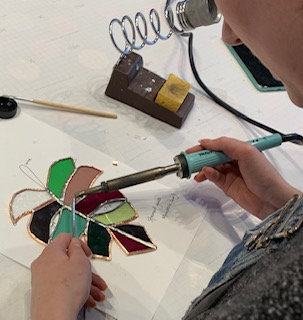 Beginners' stained glass workshop - 30th May 2021
