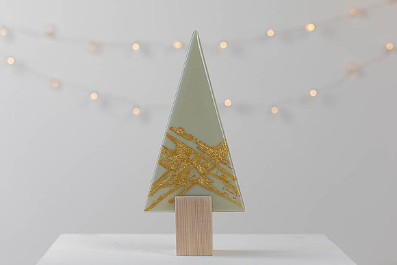 The Orla  - Driftwood Grey and Gold