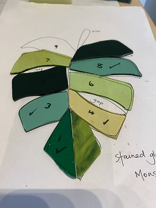Beginners' stained glass workshop - 5th February 2021