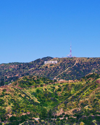 Hollywood Sign Shot by Marty