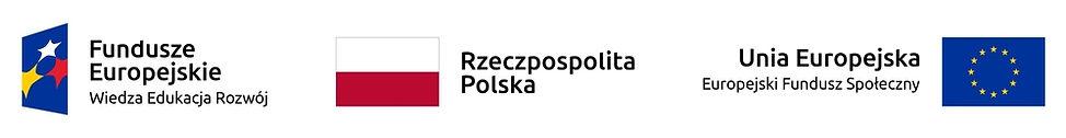 Logo Funduszy Europejskich, Flaga Polska, Flaga Unii Europejskiej