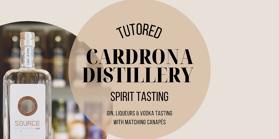 Exclusive Cardrona Spirit Tasting - 11th March 21