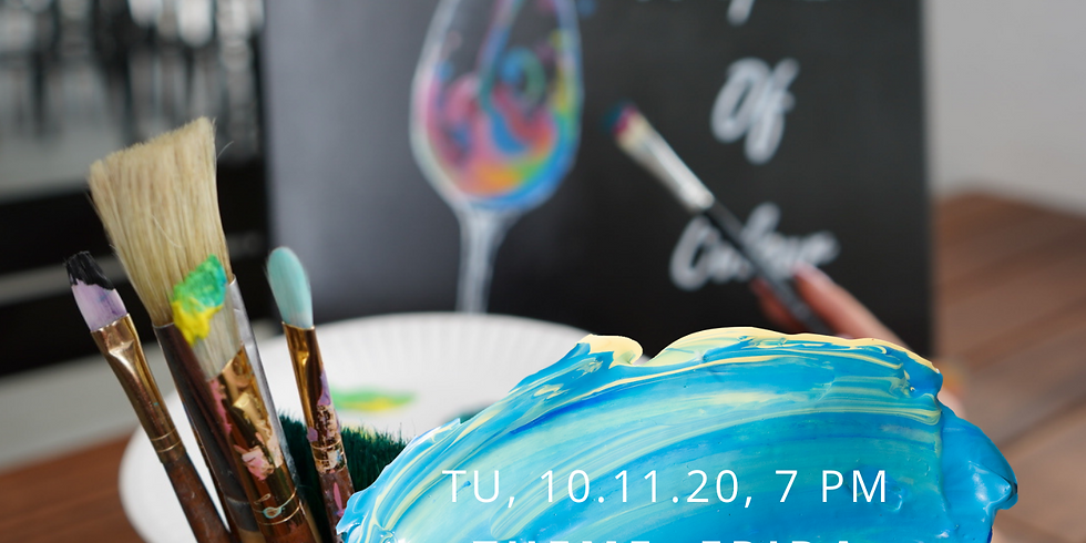 Sip 'n' Paint: 10th Nov 2020   EDITION: Frida Kahlo