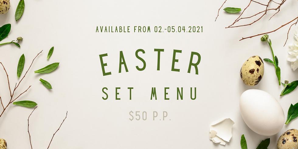 Festive Easter Set Menu