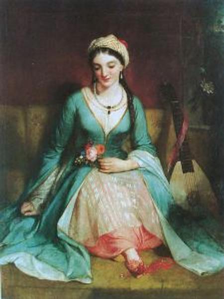 Henry Pickersgill, Greek Maiden, 1829 © the Benaki Museum, Athens