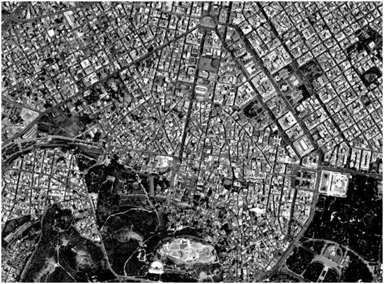 The center of Athens as it is today