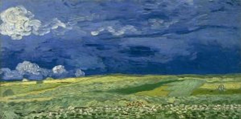Vincent van Gogh, Wheatfield Under Thunderclouds, 1890 © Van Gogh Museum, Amsterdam