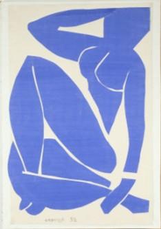 Henri Matisse, Blue Nude I, 1952 © Succession H. Matisse / DACS 2013