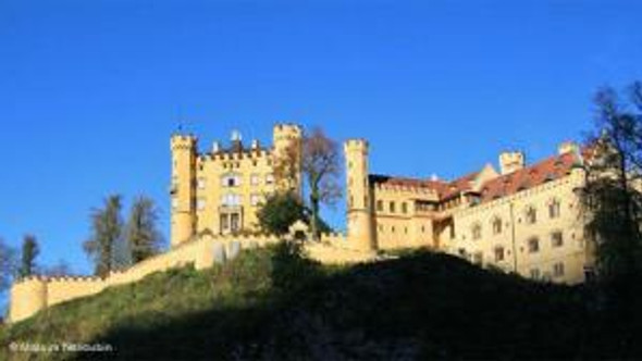 Hohenschwangau Castle. Photo source Deutsche Welle.