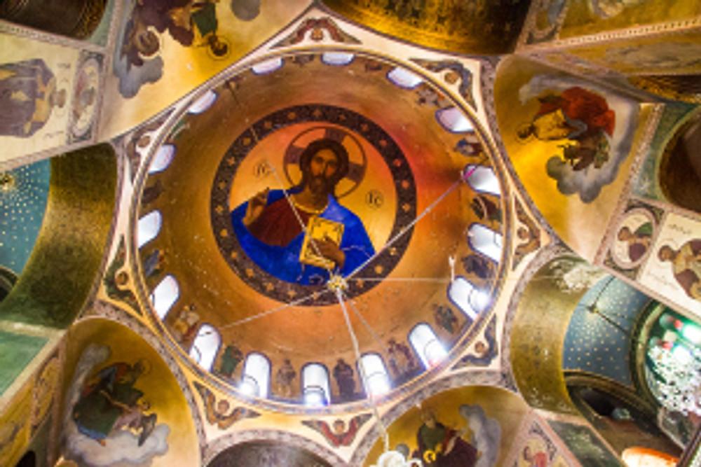 Interior of the church. © Insidethetravellab