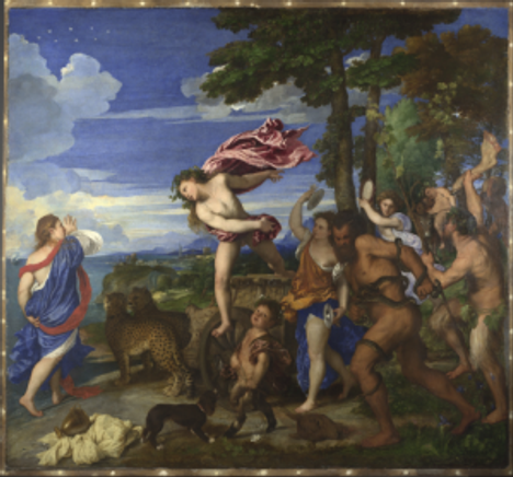Titian, Bacchus and Ariadne, 1520-3 © The National Gallery, London