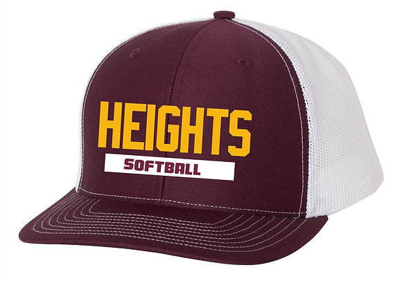 LH Softball Snapback Hat