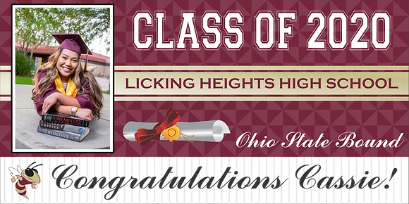 GB8 Graduation Banner