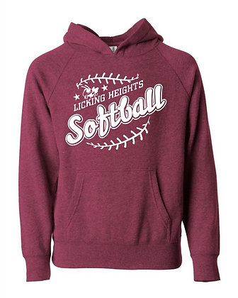 LH Softball Youth Independent Hoodie