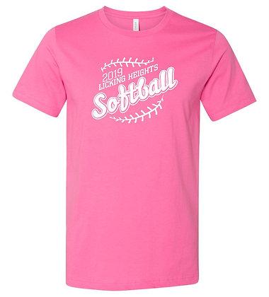 LH Softball Pink Team Shirt