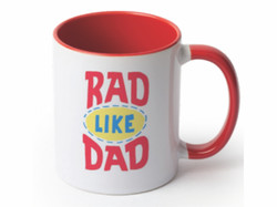Rad Dad Mugd Dad Mug Horizontal
