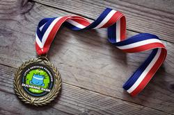 Sublimation Sample Little Hercules Award Medal