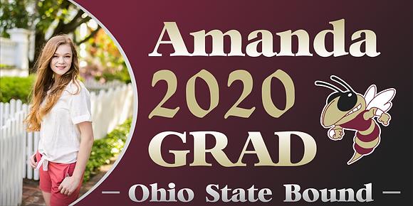 GB10 Graduation Banner