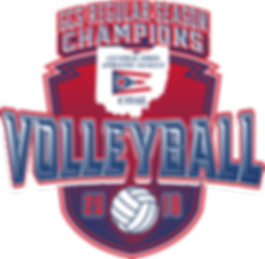 2018 COAL Championship Volleyball Logo 1