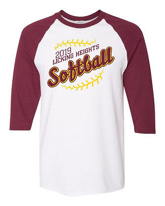 LH Softball Raglan Tee
