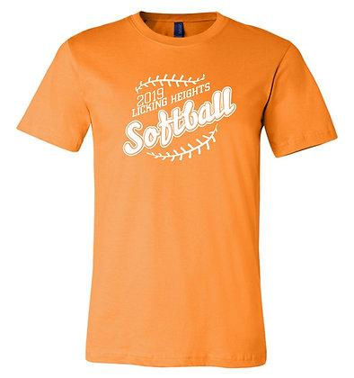 LH Softball Orange Team Shirt