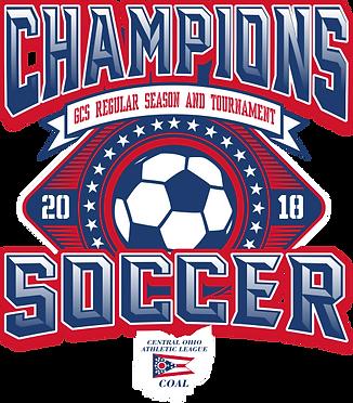 2018 COAL Championship Soccer Logo 10.18